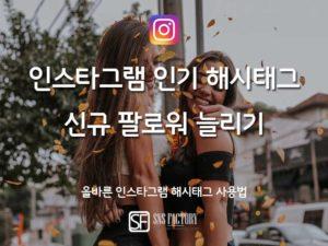 2019 인스타그램 인기 해시태그로 신규 팔로워 늘리기